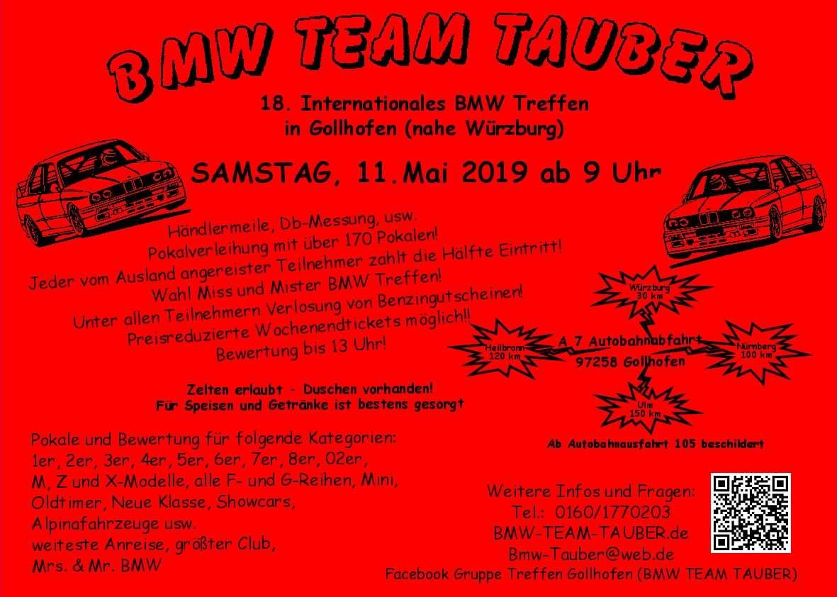 19 Int Bmw Treffen In Gollhofen Bmw Performance Club Kremstal